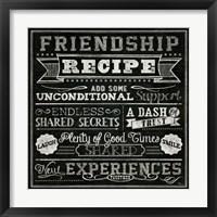 Framed Thoughtful Recipes IV