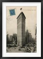 Flat Iron 1909 Framed Print