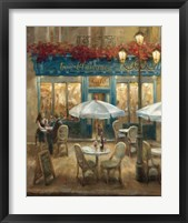 Paris Cafe I Framed Print