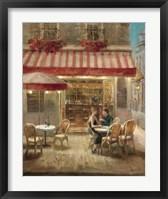 Paris Cafe II Framed Print