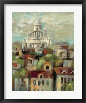 Spring in Paris I Framed Print