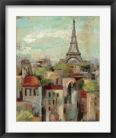 Spring in Paris II Framed Print