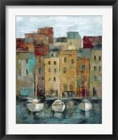 Old Town Port II Framed Print