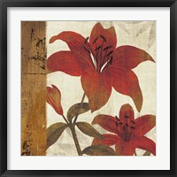 Framed Floral Harmony II