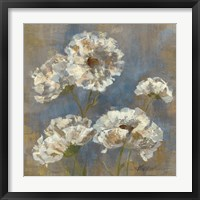 Flowers in Morning Dew I Framed Print