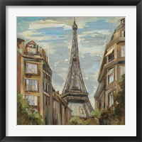 A Moment in Paris I Framed Print