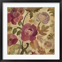 Shimmering Garden I Framed Print