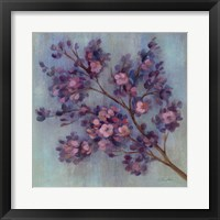 Twilight Cherry Blossoms II Framed Print