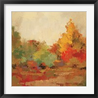 Fall Forest II Framed Print