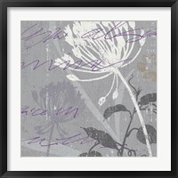 Greenology Gray - II Framed Print