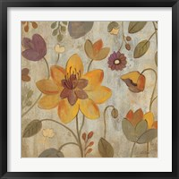 Floral Song II Framed Print