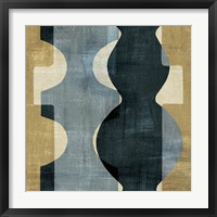 Geometric Deco II Framed Print