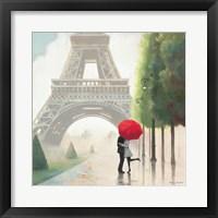 Paris Romance II Framed Print