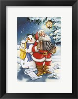 Framed Christmas Carols