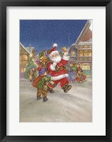 Framed Santa Clause is Coming to Town