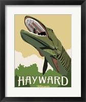 Hayward Muskie Framed Print