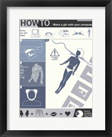 How To Create A Woman Framed Print