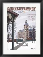 Framed Punxsutawney