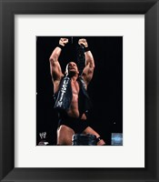 Framed Stone Cold Steve Austin 2001 Action