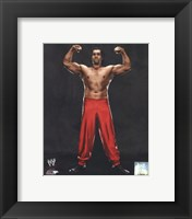 Framed Great Khali 2013 Posed