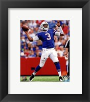 Framed E.J. Manuel 2013 with the ball