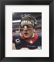 Framed J.J. Watt 2013 Action
