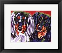 Framed Holly & Libby