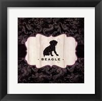 Top Dog IV Framed Print