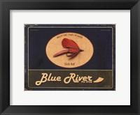 Framed Blue River