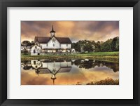 Framed Star Barn