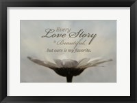 Framed Love Story