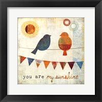 My Sunshine Framed Print