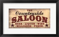 Framed Countryside Saloon