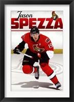Framed Ottawa Senators® - J Spezza 13