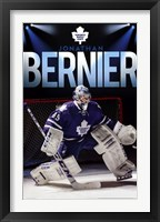 Framed Toronto Maple Leafs® - J Bernier 13