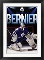 Framed Toronto Maple Leafs® - J Bernier 13