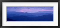 Framed Dawn Great Smoky Mountains National Park NC