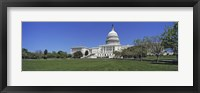 Framed USA, Washington DC, Low angle view of the Capitol Building