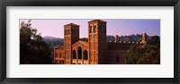 Framed Royce Hall at the campus of University of California, Los Angeles, California, USA