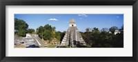 Framed Tikal, Guatemala, Central America