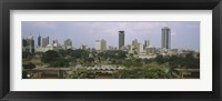 Framed Skyline View of Nairobi, Kenya