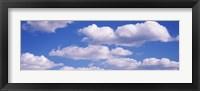 Framed Fluffy Clouds