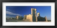 Framed Monument Rocks, Gove County, Kansas