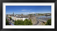 Framed Quayside, Reginald's Tower, River Suir, Waterford City, County Waterford, Republic of Ireland