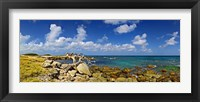 Framed Rocks at the coast, Aruba