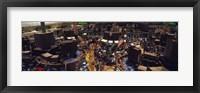 Framed Stock Exchange, NYC, New York City, New York State, USA