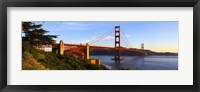 Framed Golden Gate Bridge from a Distance