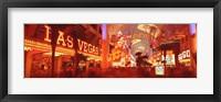 Framed View of Fremont Street Las Vegas NV USA