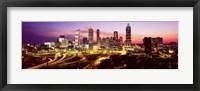 Framed Night, Atlanta, Georgia, USA
