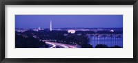 Framed Evening Washington DC